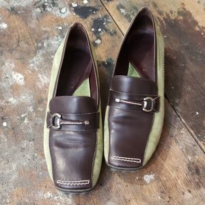 Italian Leather Driving Loafers